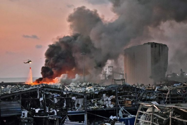 Judge files charges against 2 over Lebanon port blast