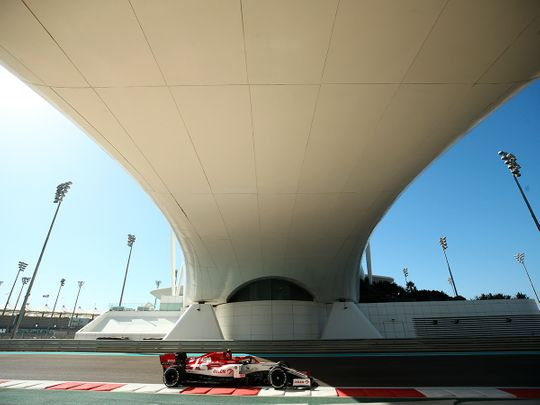 Abu Dhabi Grand Prix 2020: Formula One drivers hit the road at Yas Marina Circuit