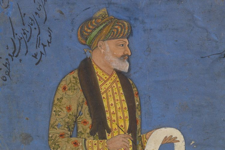 Freshman art history student discovers identity of anonymous subject in Mughal miniature