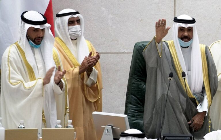 New government takes oath before Kuwait emir