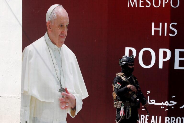 Pope urges prayer for success of Iraq visit