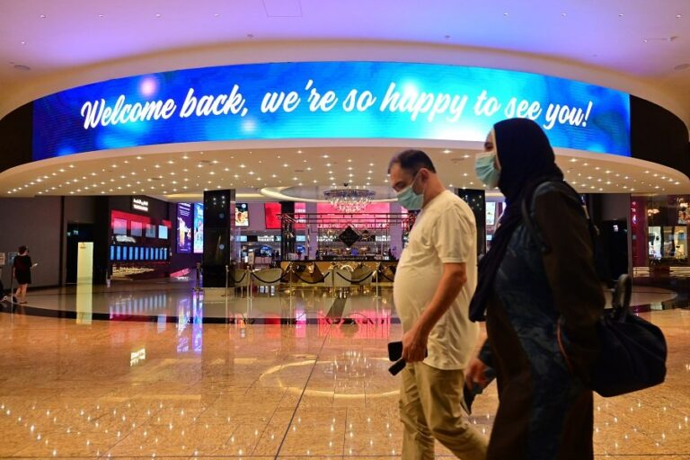 Abu Dhabi to reopen cinemas with reduced capacity, Dubai bans cafes offering drinks in baby bottles