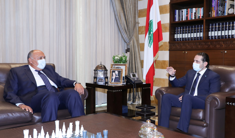 Egypt will make 'all possible efforts' to help resolve crisis in Lebanon
