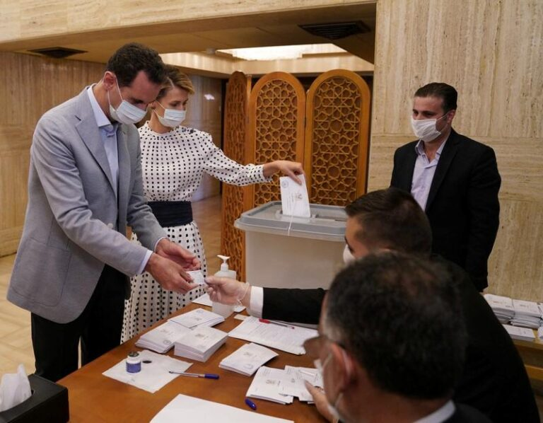 Syria to hold presidential vote on May 26: parliament