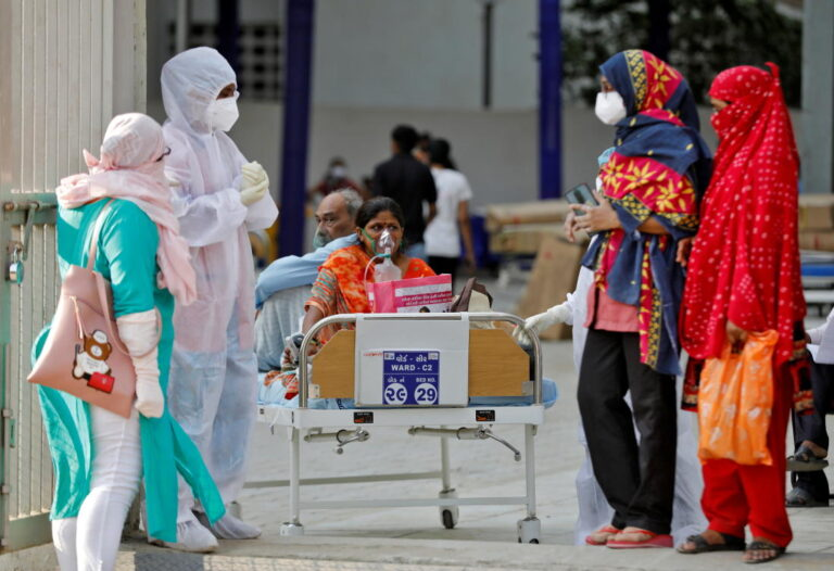 India in crisis as hospitals run out of beds and oxygen for COVID-19 patients