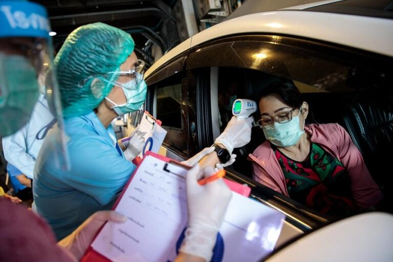 Thailand reports 1,390 new coronavirus infections, 3 new deaths