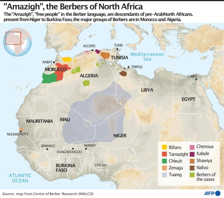 Berbers: North Africa's 'free people' struggle for rights