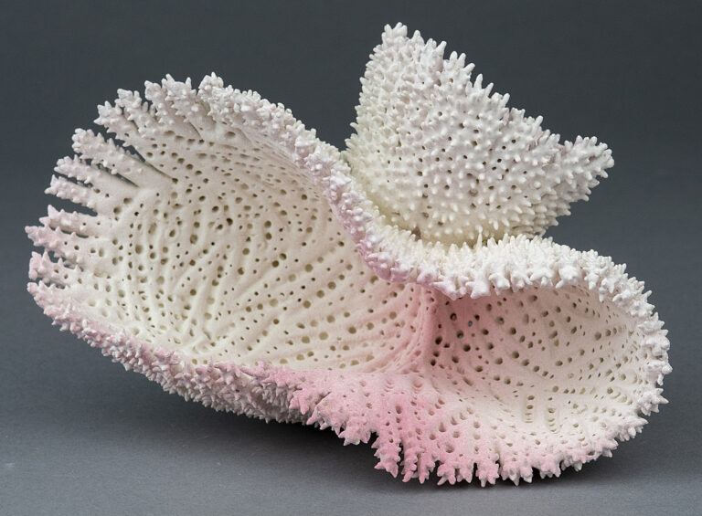 Innumerable Spines Cover Amorphous Sea Creatures Sculpted in Clay by Marguerita Hagan