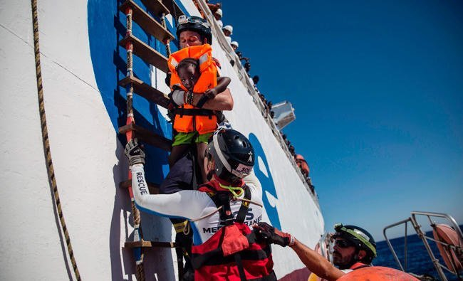 Libyan coastguard vessel that shot Italian fisherman was gift from Rome