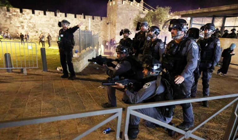 Palestinian protests deter Jewish extremists